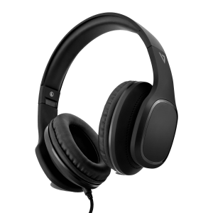 V7 Premium 3.5mm Over-Ear Stereo Headphones with Microphone