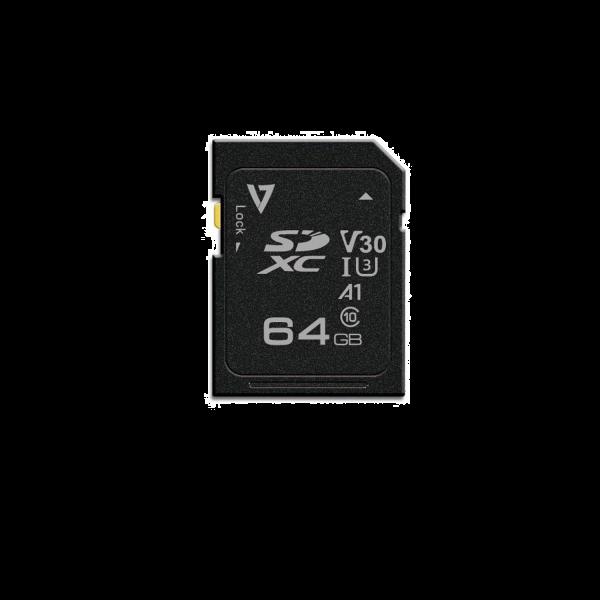 64GB SDXC Card UHS-3 V30 A1