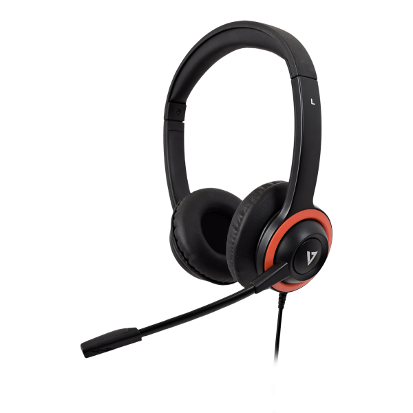 V7 Safesound Education Headset with Microphone