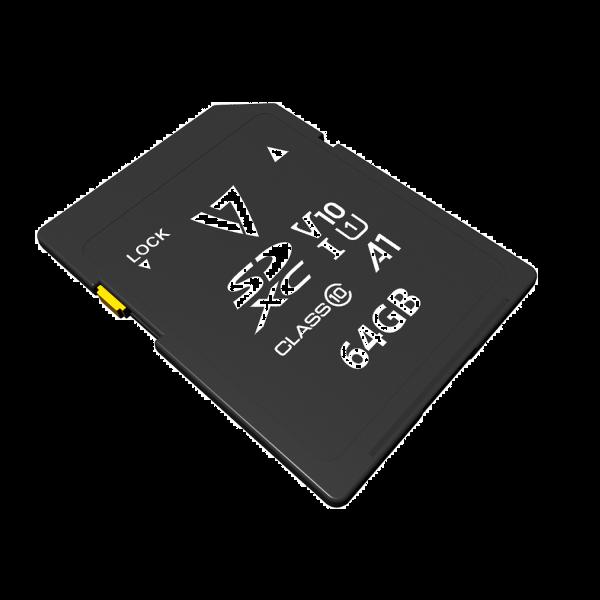 64GB SDXC Card V10 U1 A1 CL10 UHD